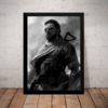 Quadro Decorativo Metal Gear Game Arte Poster Moldurado