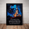 Quadro Decorativo Darth Vader Jedi Stars Wars Arte