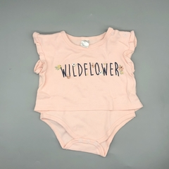 Body estilo remera Talle 3-6 wildflower