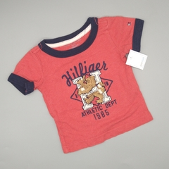 Remera Tommy Hilfiger Talle 3-6 meses athletic dept
