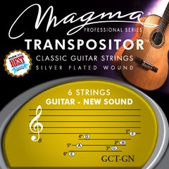 GCT-GN ENCORDADO TRANSPOSITOR PARA GUITARRA CLÁSICA GUITAR NEW SOUND