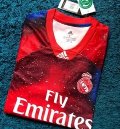 CAMISETA REAL MADRID VERMELHA