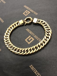 PULSERA DOBLE GROUMET VERMEIL - Golden Luxury