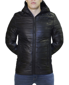 CAMPERA ABRIGO INFLABLE SF NEGRO 4057