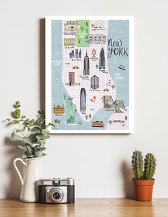 Mapa New York II