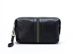 Necessaire Travel Time Black & green