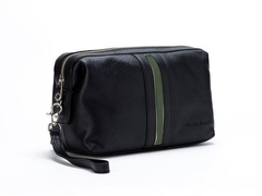 Necessaire Travel Time Black & green - comprar online