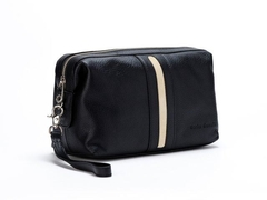 Necessaire Travel Time Black & Crema - comprar online