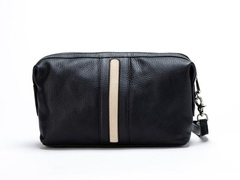 Necessaire Travel Time Black & Crema en internet