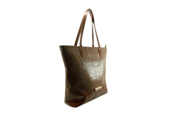 Shopping Bag Croco Charol Marron en internet