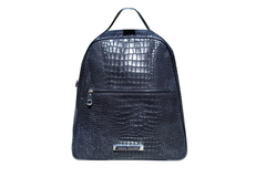 Mochila Back to Basics CROCO NEGRO