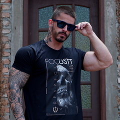 T-Shirt - Skull Whatch Black - comprar online