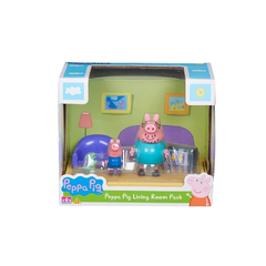 PEPPA PIG SET HABITACIONES LIVING