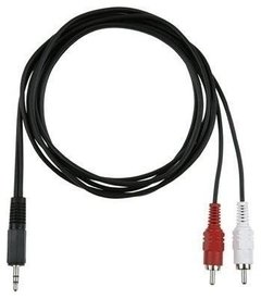 CABLE AUX A 2 RCA NETMAK NM-C25 1.5M