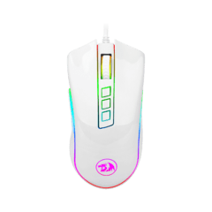 MOUSE REDRAGON COBRA WHITE M711-W