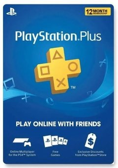 GIFT CARD PLAYSTATION PLUS 12 MESES USA