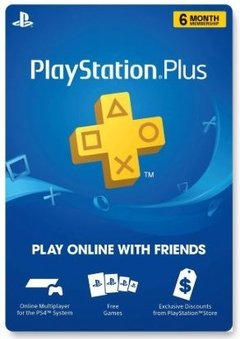 GIFT CARD PLAYSTATION PLUS 6 MESES USA