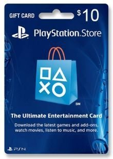 GIFT CARD PSN US$ 10 USA