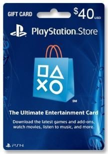 GIFT CARD PSN US$ 40 USA