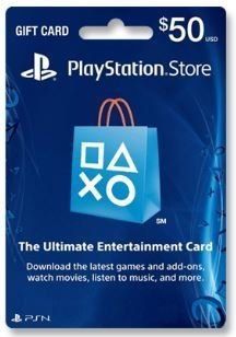 GIFT CARD PSN US$ 50 USA