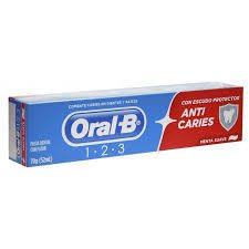 CREME DENTAL ORAL B 1-2-3 90 GR