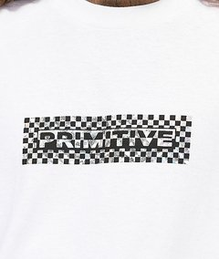 Camiseta Primitive Finish Line Branco - comprar online