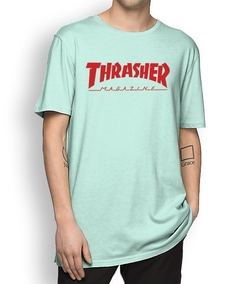 Camiseta Thrasher Classic Logo Colors na internet