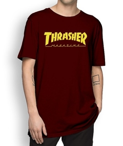 Camiseta Thrasher Classic Logo Colors - No Hype