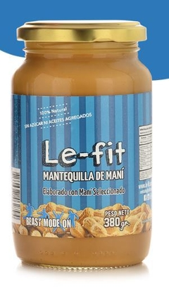 MANTEQUILLA DE MANI NATURAL LE FIT