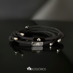 Pulseira Lovers All Black na internet