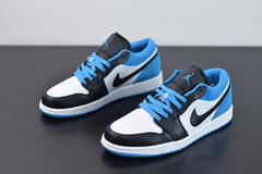 "Jordan 1 Low ""Laser Blue"" na internet"