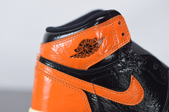 "Imagem do Tênis Jordan 1 High ""Shattered Backboard"""
