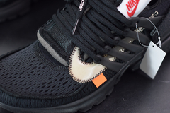 "Tênis Nike Air Presto x Off ''White ""Black"" na internet"
