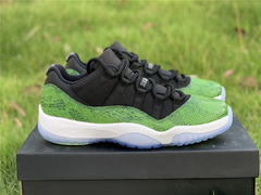 "Imagem do Tênis  Air Jordan 11 Low ""Green Snake"""
