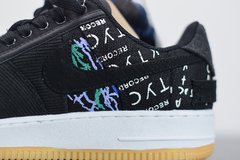 "Imagem do Air Force 1 x Travis Scott ""Cactus Jack x Black Sail"""