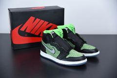"Imagem do Air Jordan 1 High Zoom Air ""Zen Green"""