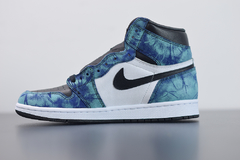 "Tênis Air Jordan 1 High ""Tie Dye"" na internet"