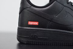 Imagem do Nike Air Force 1 Low Black x Supreme