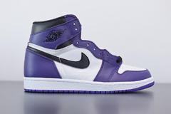 "Imagem do Tênis  Jordan 1 High ""Court Purple 2.0"""