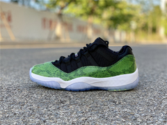 "Tênis  Air Jordan 11 Low ""Green Snake"""