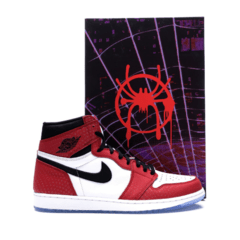 Tênis Air Jordan 1 Retro Spider Man Edition