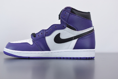 "Tênis  Jordan 1 High ""Court Purple 2.0"" - comprar online"