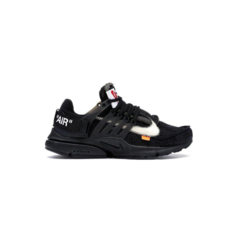 "Tênis Nike Air Presto x Off ''White ""Black"""