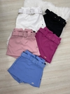 Saia short clochard sal e pimenta 0597