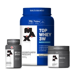 KIT TOP WHEY 3W MAX TITANIUM