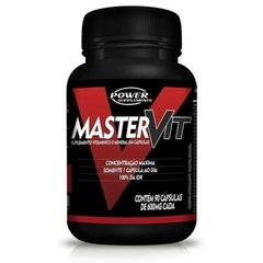 MASTER VIT (90 CAPS) - POWER SUPPLEMENTS