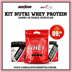 KIT NUTRI WHEY PROTEIN