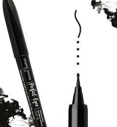 Delineador De Ojos En Fibra Perfect Eyes Simple & Beauty - comprar online