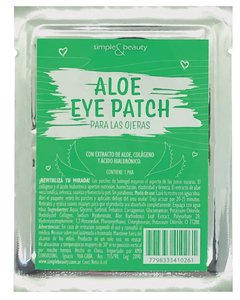 Parche De Hidrogel Con Aloe Ojeras Simple & Beauty 3 Pares en internet