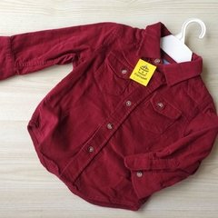 CAMISA M LARGA - GAP - 18-24 MESES